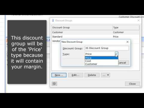 Solatech SalesPRO Training Video Discounts Managing your Discount Groups