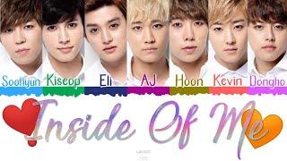 ❣️ U-KISS (유키스/ユーキス) - Inside Of Me [Color Coded Lyrics Kan|…