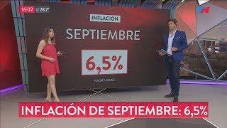 6,5% la inflación de Septiembre, la más alta de la era Macri thumbnail