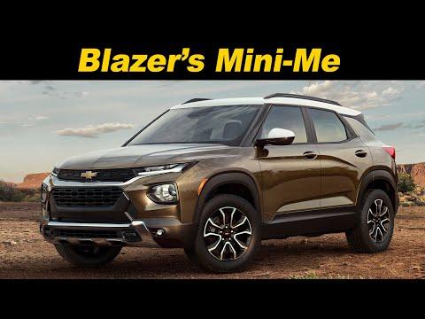 2021 Chevrolet Trailblazer First Look Youtube