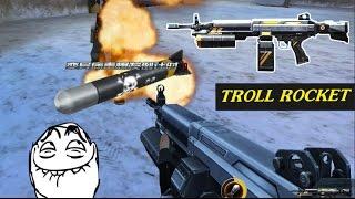 Truy Kích - Cầm Rocket đi troll khựa cực hài =)) '' M249 Rocket vs Viper ''