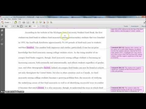 Dissertation prospectus example