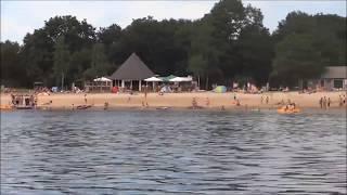 Badesee Hilgelo in Meddo (Winterswijk) - Breiter Badestrand mit Spielplatz un Pommesbude