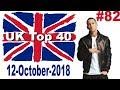 UK Top 40 Singles Chart 12 October, 2018 № 82