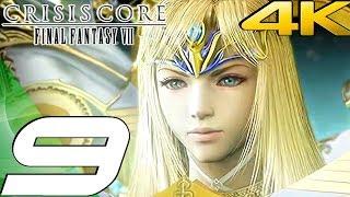 Crisis Core: Final Fantasy VII - Gameplay Walkthrough Part 9 - Depths of Judgement [4K 60FPS]