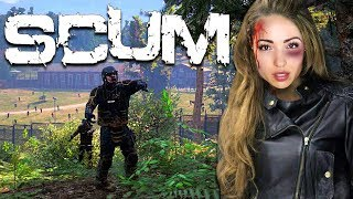 Trying to SURVIVE in a world of ZOMBIES! (SCUM)