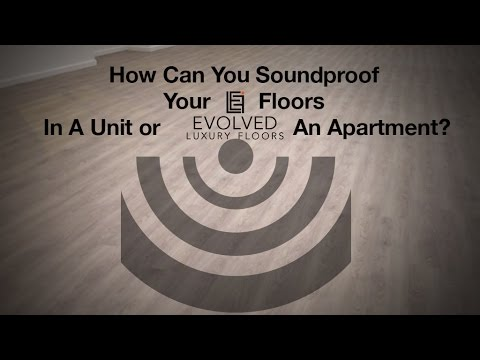 How Do I Soundproof My Floors In A Unit or Apartment? Acoustic Loose Lay  Gold Coast