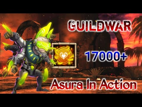 Guildwar | Best Build Asura In Action | Vs No.1 Guild | 17000+ Score | Castle Clash