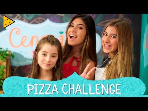 PIZZA CHALLENGE COM FERNANDA CONCON | IVANA & SOFIA