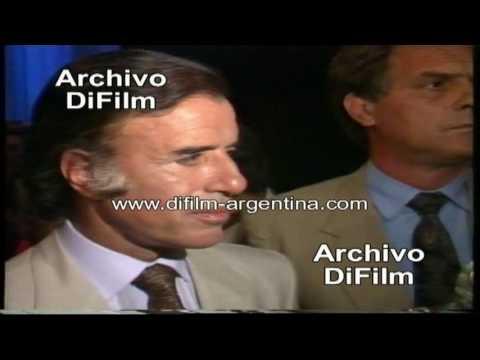 Carlos Menem - Plan Brady Y Negociación GATT - DiFilm (1990)