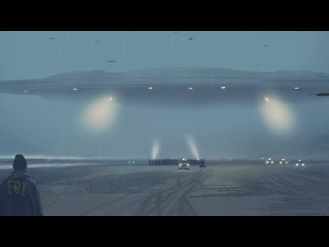 👽 UFO Mothership Spotted by Multiple Witnesses in Oregon (CGI)