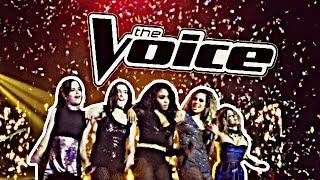 Fifth Harmony - 'All In My Head (Flex)' - The Voice Australia 2016 - [HD