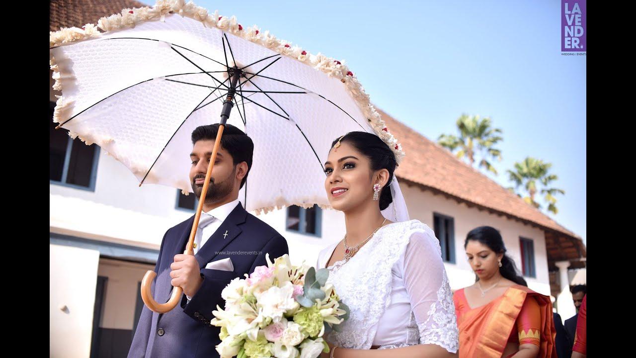 Kerala Christian Wedding Highlight Cicily Vivek Team Lavender 2019 Youtube