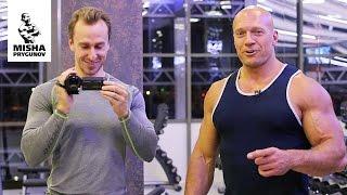 Денис Семенихин и Михаил Прыгунов. Совместная тренировка.