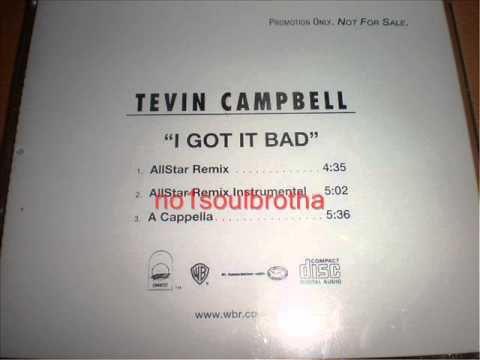 "Tevin Campbell ""I Got It Bad"" (Allstar Remix)"