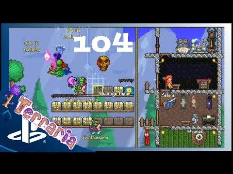 104: DARFU GÖNNT SICH RAKETENWERFER 🎮 Terraria Deutsch Playstation 4 V1.3 🎮 Lets Play Terraria