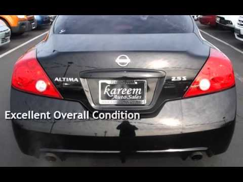 2012 nissan altima 2 5 s coupe 6 speed manual for sale in sacramento rh youtube com 2013 nissan altima coupe manual 2012 Nissan Altima Coupes Interior