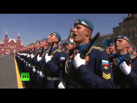 Russian ura Battlecry Shouted by Putin