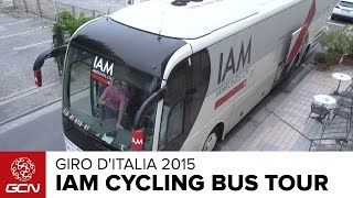 IAM Cycling Team Bus Tour | Giro D