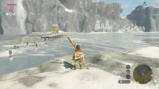 AG Tv-Spiel: Legend of Zelda Breath of The Wild | Wie man Korok Samen Unter der Brücke Große Plateau