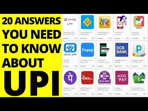 20 Answer You Need To Know about UPI | Clear All Your Doubts