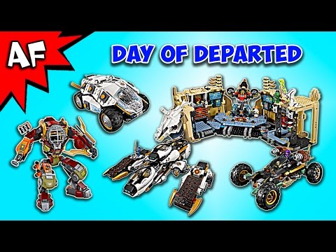 Every Lego Ninjago Day of the Departed 2016 Sets - Complete