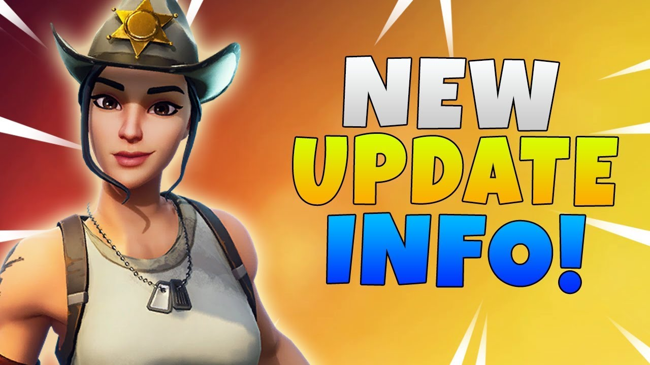 Fortnite stw patch 5. 2 notes youtube.