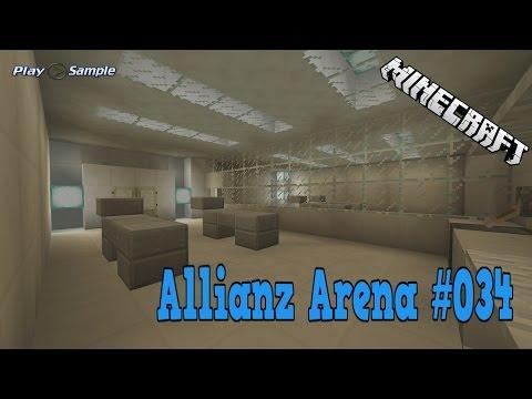Minecraft Wir bauen die Allianz Arena #034 ► Einmal Durchkneten Bitte !!!