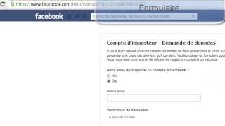 Comment faire supprimer un faux profil Facebook en cas de vol d'identité?