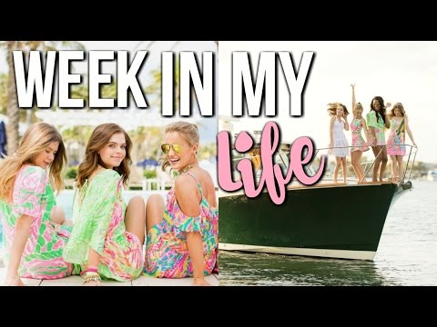 WEEK IN MY LIFE: Palm Beach w/ Lilly Pulitzer
