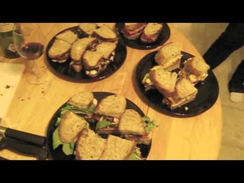 Sandwich Showoff Oscar Sunday