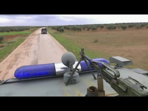 Russian military Police on patrol near Manbij | January 2019 | Syria
