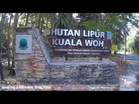 Family Trip at Kuala Woh, Tapah, Perak