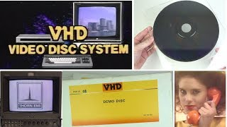 VHD: How 1980s UK missed out on an interactive video and games format