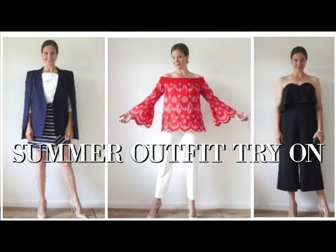 Summer Outfit Haul and Try On - MISS SELFRIDGE | DOROTHY PERKINS | TOPSHOP | Fashion over 40
