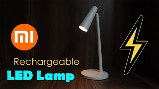 Mi Rechargeable LED Lamp Unboxing - for reading and as emergency lamp for Rs. 1,299