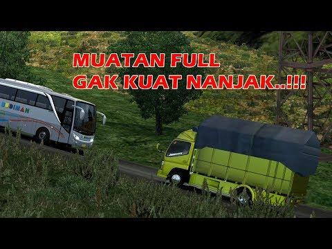 TRUCK CANTER Gak Kuat Nanjak | Ets2 Mod Truck Indonesia