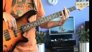 Jimmy Cliff - Sunshine In The Music - Bass Cover