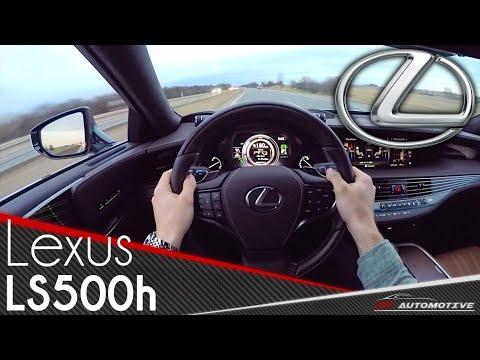 Lexus LS 500h 2018 POV Test Drive Acceleration 0 200 km h, LUXURY RIDE