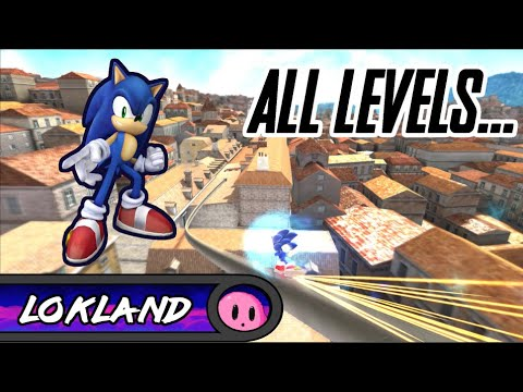 All Sonic Generations + Unleashed Project Modern Levels! [60fps] [1080p] ~ Lokland