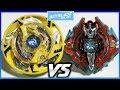 Maximus Garuda .8F.Fl vs Surge Xcalius .1.Ir - Beyblade Burst Hasbro ベイブレードバースト