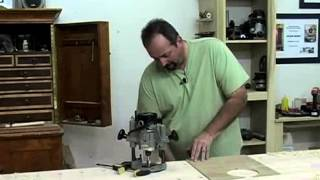 How To Make Workbench Dog Holes, With Glen D. Huey
