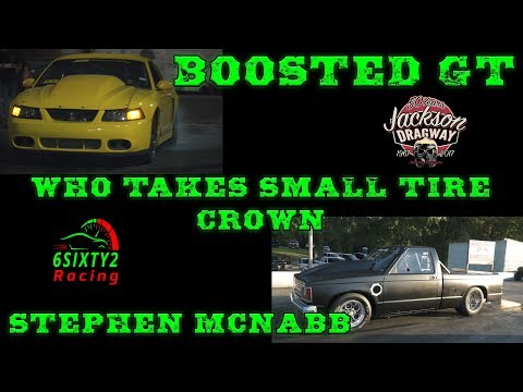Street Outlaws Boosted Gt vs Stephen McNabb Road To Small Tire Victory 4k Video