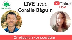 LIVE Questions-Réponses avec Coralie Béguin du 30-04-2020