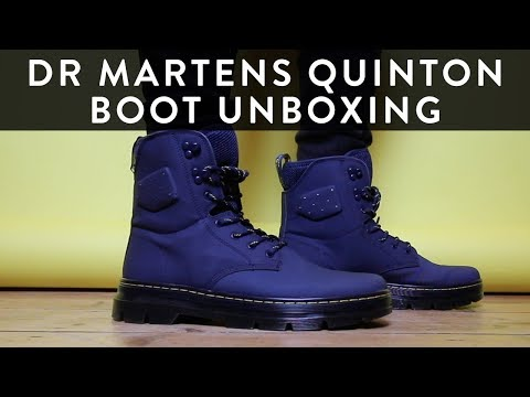 Dr Martens Quinton   Unboxing   The New Collections   Llomotes