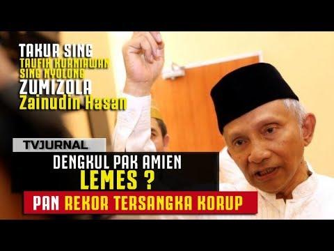 PAN PEMECAH REKOR, Dekul Pak Amien Lemes ? Dapat Penghargaan KPK DONG !