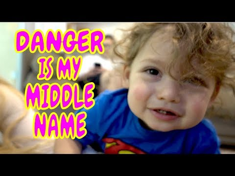 DANGER IS HIS MIDDLE NAME