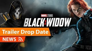 Black Widow Trailer Release Date & Announcement at SDCC