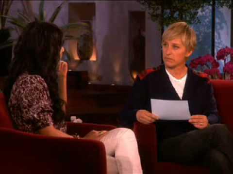 Vanessa Hudgens talks about Zac - The Ellen DeGeneres Show