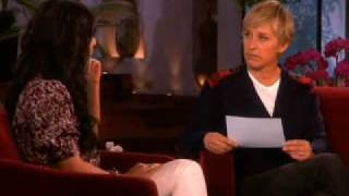 Vanessa Hudgens talks about Zac - The Ellen DeGeneres Show